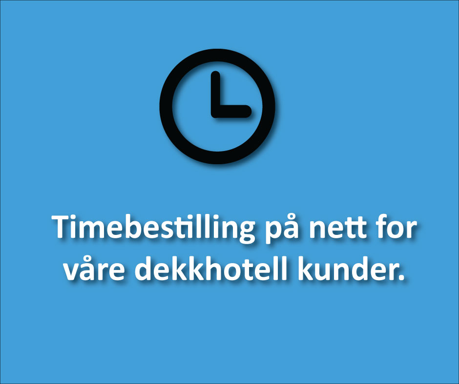 Klikk her for å booke time for hjulskift